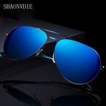 2017 Polarized Sunglasses Men Original Brand HD Polaroid Lens Reflective Coating Driving Sunglasses Vintage Male Google Eyewear