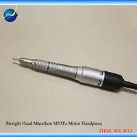Корея марафон sde m33es Электрический Двигатель прямой руководитель наконечник для зубных украшений промышленность лаборатория 204 90 Чемпион Ш