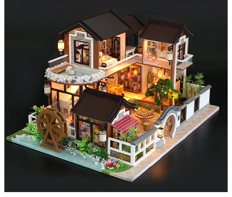 HTB1Vj33TAvoK1RjSZFwq6AiCFXao - Robotime - DIY Models, DIY Miniature Houses, 3d Wooden Puzzle