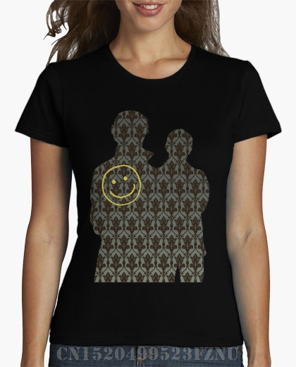 2018 Spring black friday women t shirt Sherlock Short Print Cotton 3d Design High Quality