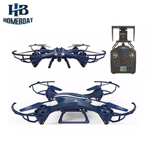 U818S Wifi UFO 2.4G 4CH 6 Axis Gyro RC Quadcopter with FPV HD Camera One Key Return Headless Mode