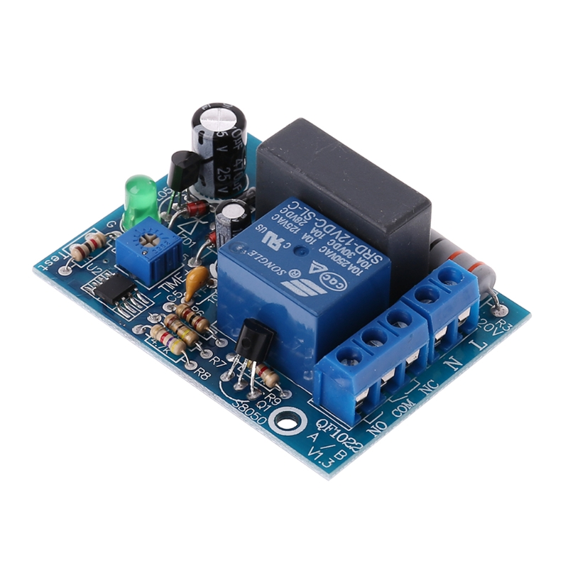 AC 220V Adjustable Timer Delay Switch Turn On Off Time Relay Module in Relays from Home Improvement