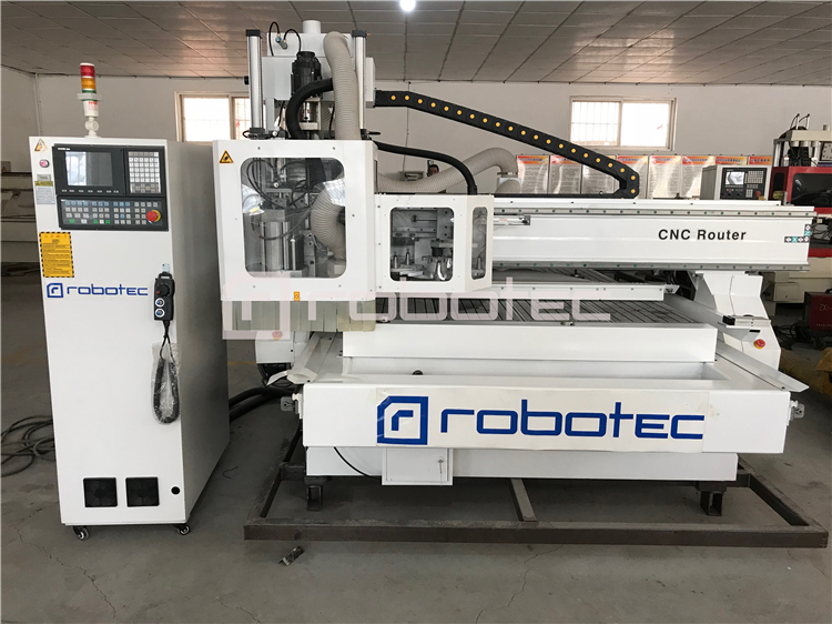 Best Machining Center ATC Cnc Router Machine With Loading And Unloading Panel Furniture Production Line With Best Price For Sale