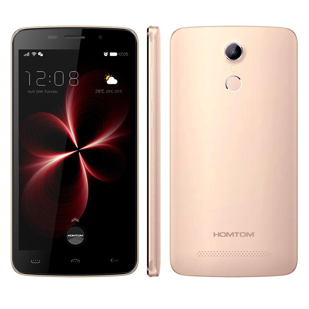 Оригинал homtom ht17 про смартфон android 4 г 6.0 четырехъядерных mtk6737 5.5 «экран двойная камера смарт услуга жест мобильного телефона