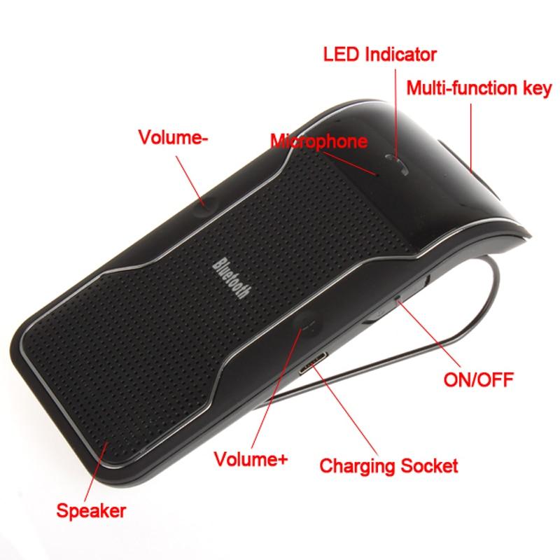 беспроводной громкой связи Bluetooth автомобильный комплект
