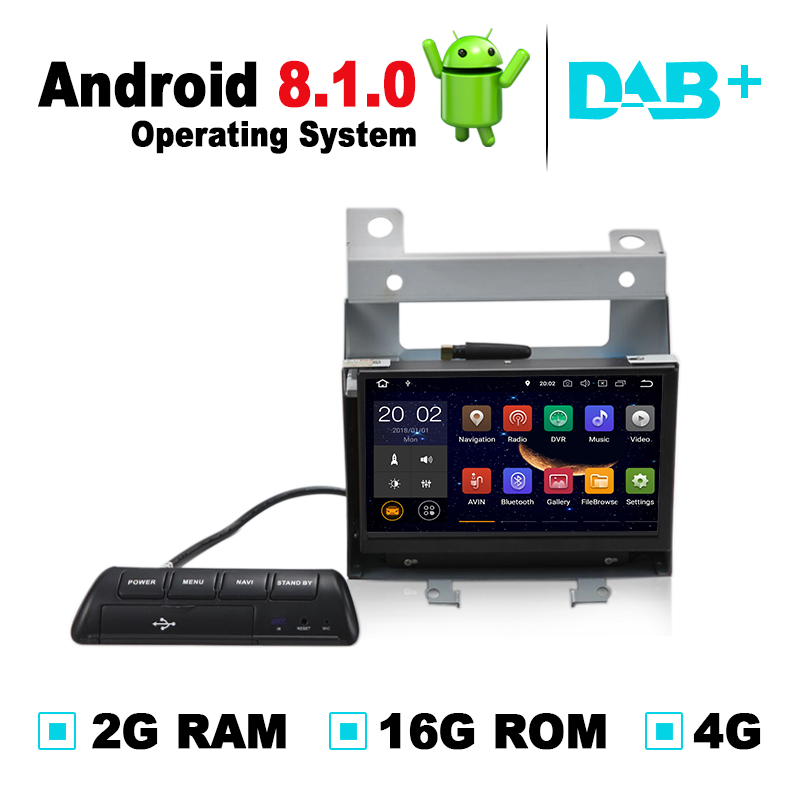 2G RAM Android 8.1 Car DVD GPS Navigation System Radio Stereo for Land Rover Freelander 2 Discovery For Range Rover our discovery island 4 dvd