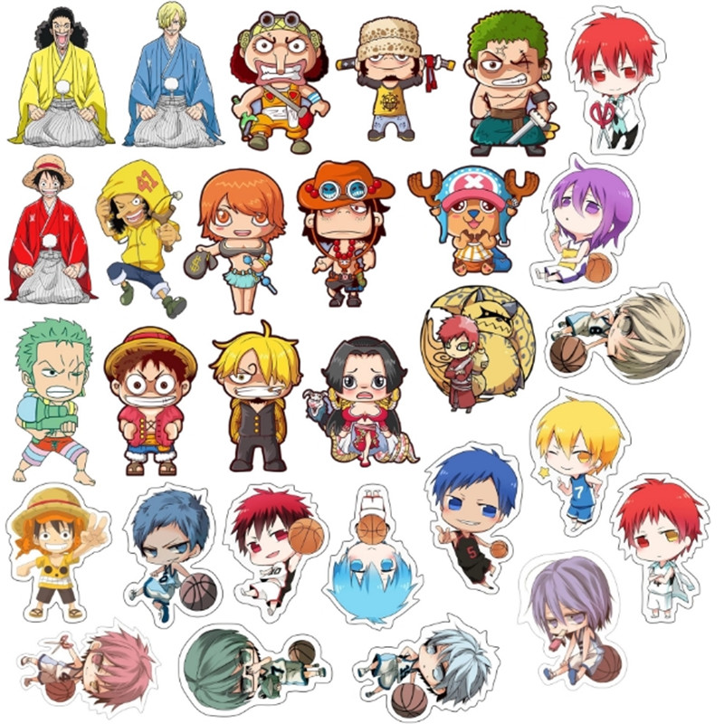 1PCS MIX Cartoon Basketball Teenager One Piece Icons On The Pin Icon Badge Bacges On Backpack Badges For Clothing Acrylic Badges