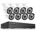 DEFEWAY 8CH HD 1080 P Poe Video Surveillance IP Camera Home Security Camera POE Systeem 8 Camera IP Video Surveillance kit