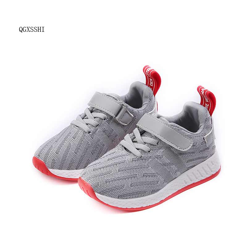 2017 Fashion Boys Girls Shoes Kids Sport LS breathe Children School Shoe #13