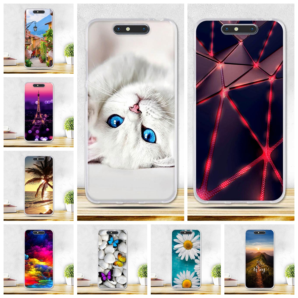 Galleria fotografica For ZTE Blade V8 Case Ultra Thin TPU Soft Silicone Cover For ZTE Blade V8 bv0800 Full Protection Phone Bags Cases For ZTE V 8