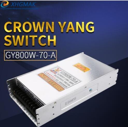Alimentation à découpage 800 W 70 V 12A pilote commutateur CNC routeur pièces fournisseur d'usine 600 w 48 v 12A