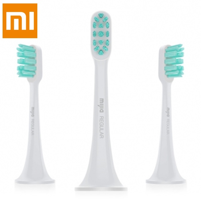 Xiaomi 3pcs Replaceable Toothbrush Head Mi Home Sonic Electric Toothbrush General Brush Head Oral Care Tool Clean Brush Heads xiaomi mi home 3pcs set electric sonic toothbrush general brush head oral care tool tooth brush heads oral hygiene teeth care