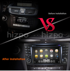 Image 3 - 2019 New Car DVD Player For Mercedes Benz E Class W211 W209 W219 Radio Stereo GPS Navigation System DAB BT USB Free Camera+8gMap