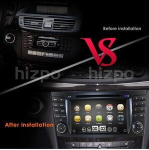 Image 3 - Reproductor de DVD para coche Mercedes Benz Clase E W211 W209 W219 Radio Estéreo, sistema de navegación GPS, DAB BT, USB, cámara gratis + 8gMap, novedad de 2019