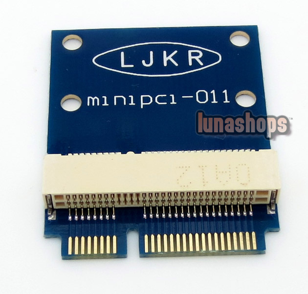 Mini PCIE PCI E Male To Female 52 pins font b Adapter b font Protection Test