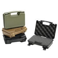 GUGULUZA High Quality ABS Tactical Hard Pistol Box Hunting Carry Case Gun Case Padded Foam Lining for Hunting Airsoft