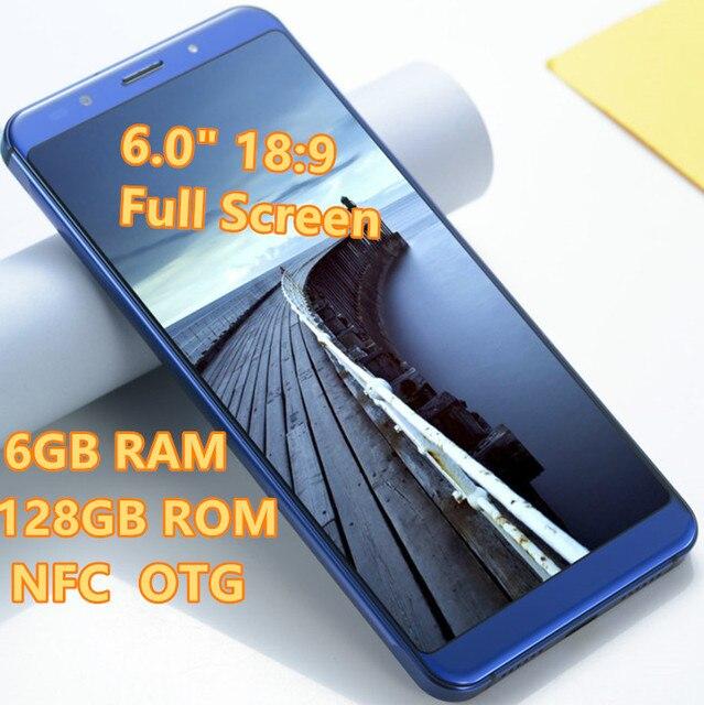 """6.0"""" 18:9 Full Screen SANTIN n1 MAX 6GB RAM 128GB ROM NFC Phone Octa Core 4G Mobies Phone LTE Phone 4G Android Mi8 MI A2 8X Mix"""