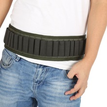 140 * 5CM Utomhus Airsoft Jakt Tactical 25 30 Shotgun Shell Bandolier Belt 12 Gauge Ammo Holder Military Shotgun Cartridge Belt