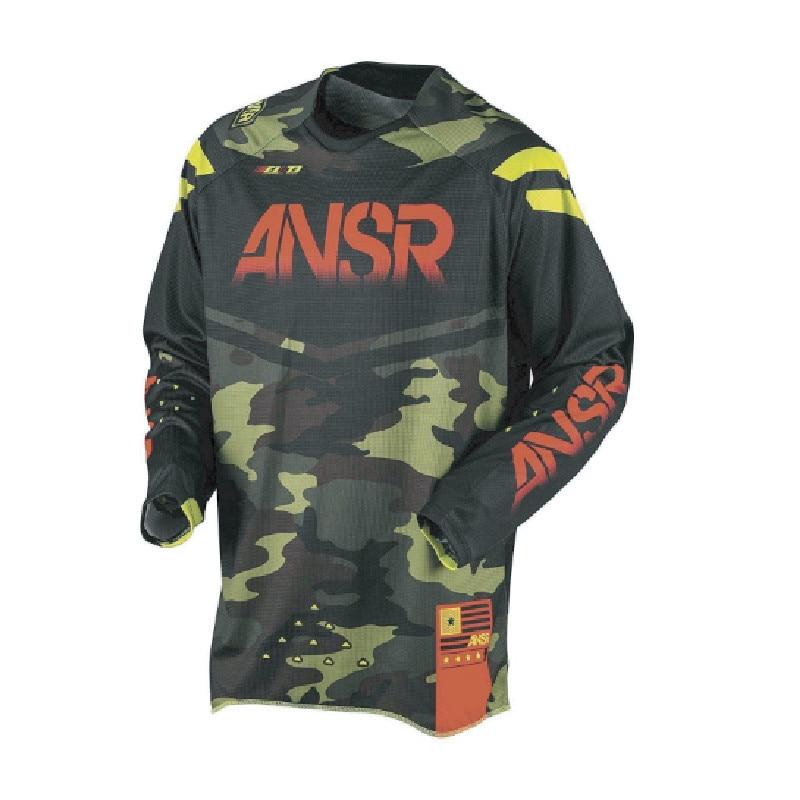 2018 Cycling Downhill Jersey for ansr Motorcycle t shirts Motocross Jersey XC BMX DH MTB T Shirt MTB downhill motorcycle Clothes цена
