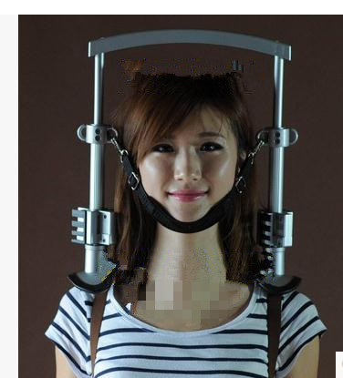купить New health massager household cervical tractor traction massage neck therapy instrument quick shipment по цене 4175.73 рублей