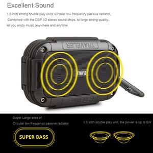 Image 3 - MIFA F7 Bluetooth Speaker IP56 Stofdicht Water Proof Luidsprekers AUX Draadloze Draagbare Outdoor Speakers Metal Soundbar Luidspreker