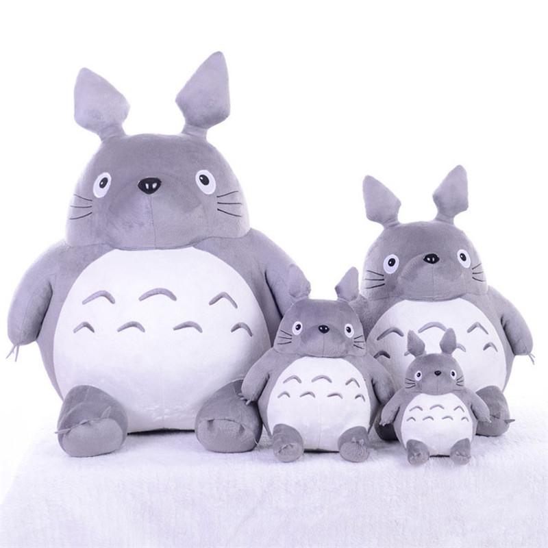 Plush Toy Totoro Cute Soft Stuffed Anime Toys Doll Large Size Pillow Totoro Best Gifts Toys For Children Animation Dolls Gift 7