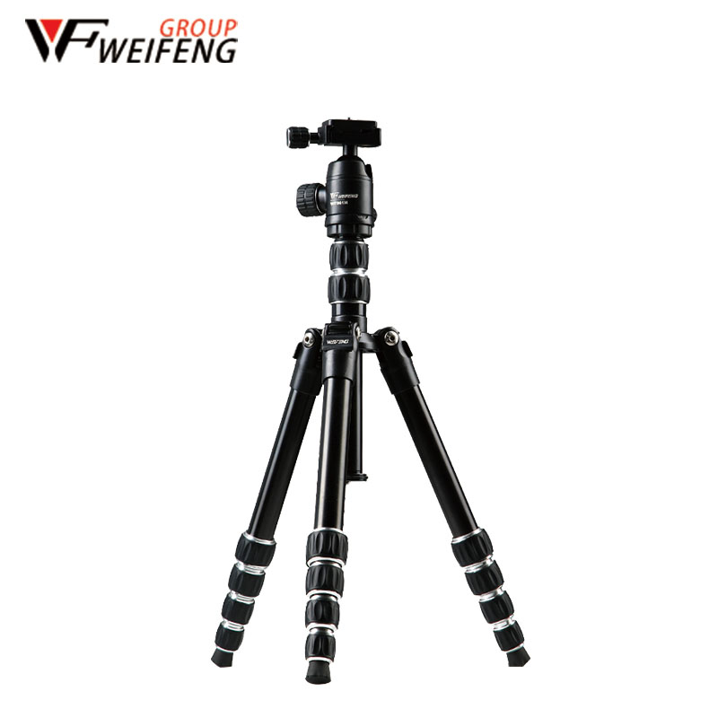 Tripod Weifeng WF861 Aluminum Alloy Reflex Tripods The Portable Travel Photography Tripod For SLR DSLR Digital Camera original weifeng wt3770 portable lightweight aluminum alloy tripod with carrying bag for dslr slr camera