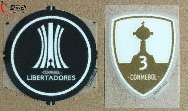 conmebol Trophy 3 Gremio/santos/ River Plate/ Nacional Soccer Badge Helpful 2018 Libertadores Conmebol Parche Set 2018 Libertadores Arts,crafts & Sewing