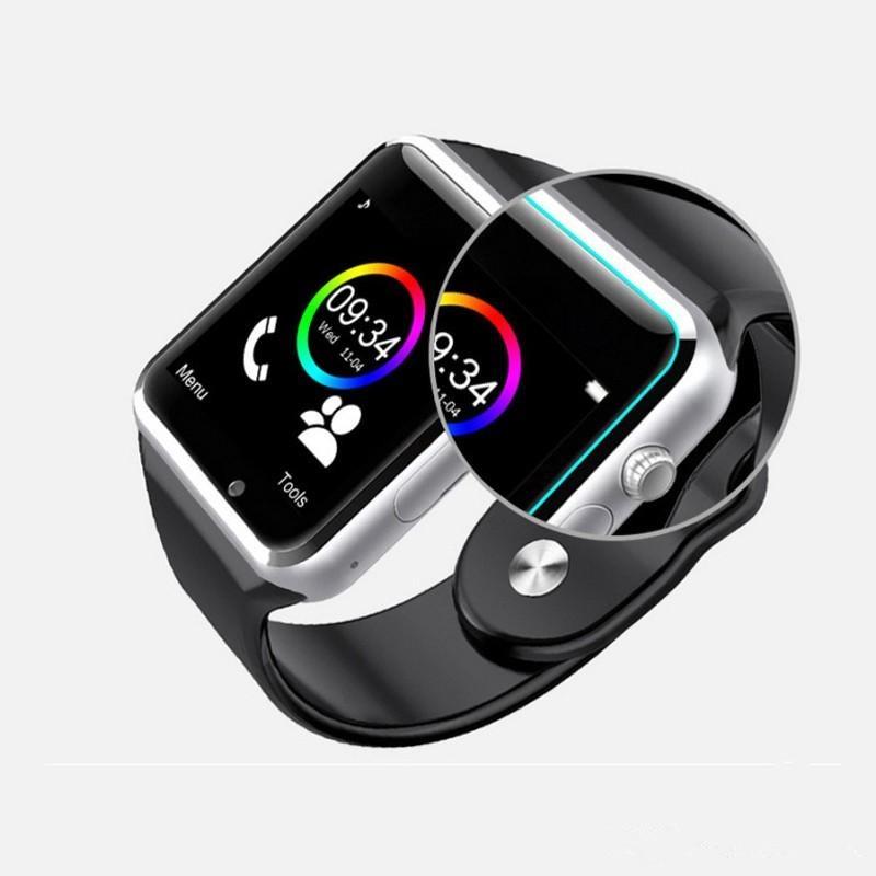 Popularni Smart Watch A1 W8 s fotoaparatom s sim karticom Bluetooth - Pametna elektronika - Foto 2