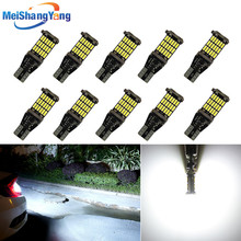10x t15 LED W16W 920 921 912 canbus car interior light 45SMD 4014 Chip white Instrument Lights bulb no error 12V Auto lamp 6000K