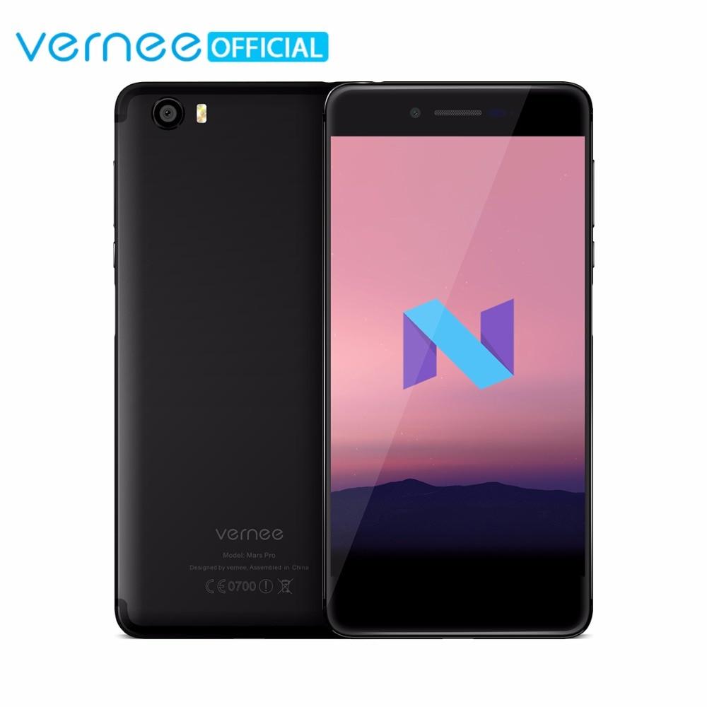 Vernee Mars Pro 4G Lte Mobile Phone 6G RAM 64G ROM MTK6757 Helio P25 Octa core