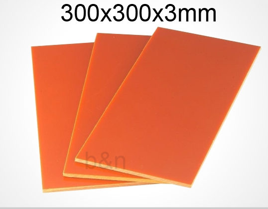 3mm Thickness 300x300 Bakelite Plate Insulation Board