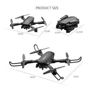Image 5 - R8 drone avec caméra aérienne 4K HD quadrirotor, hoover à flux optique, double caméra, hélicoptère télécommandé avec télécommande