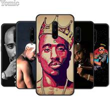 Phone Case for Oneplus 7 7 Pro 6 6T 5T Black Soft TPU Cover Shell for Oneplus 7 7Pro Silicone Case Tupac Shakur