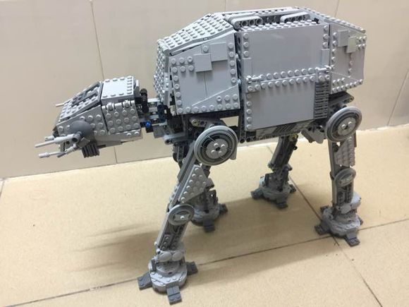 ФОТО NEW 1137pcs  05050 Series AT-AT the Robot Electric Remote Control Building Blocks Toys Compatible with 10178  bricks Star War
