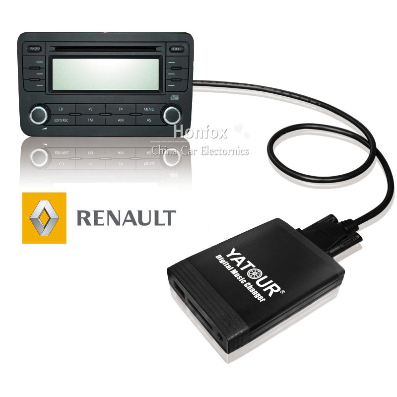 Yatour YT-M06 Car digital music changer For Renault Siemens VDO Dayton 8-pin head unit Car USB MP3 SD AUX adapter yatour digital music changer usb sd aux adapter yt m06 fits volvo s60 s40 car stereos mp3 interface emulator din connector