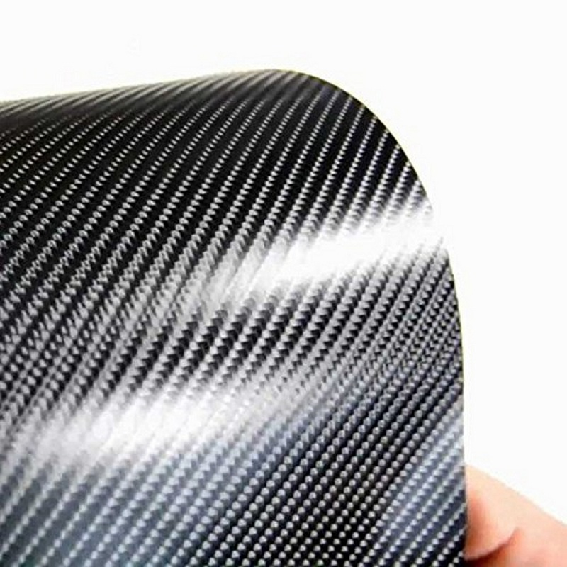 Image 2 - 152X20CM Car Interior Sticker 4D Carbon Film Self Adhesive Carbon Fiber Design UV Protected 5 Color Auto Decoration Sticker-in Car Stickers from Automobiles & Motorcycles