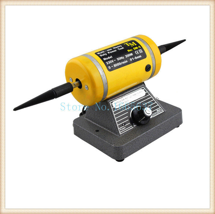 220 voltage With a drill chuck bench grinder Polishing motor workpiece polishing machine polishing machine punching machine