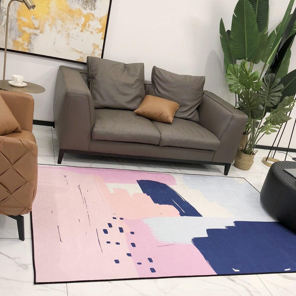 2018 géométrique pastorale tapis anti-dérapant tapis de jeu Polyester Quilting multifonctionnel épais tapis housse de protection chambre