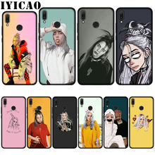 IYICAO Billie Eilish 13 Girl Soft Case for Huawei P20 Pro P10 P8 P9 P30 Lite Mini 2017 P Smart 2019 Cover(China)