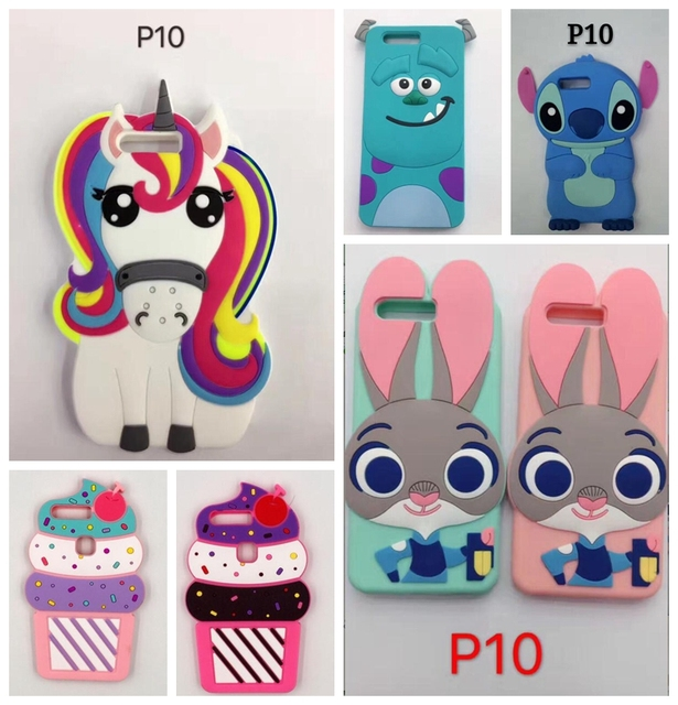 cute huawei cases. aipuwei for huawei p10 lite case cover 3d coque soft silicone cute cases
