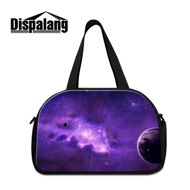 Galáxia bolsa de ombro bolsas para as mulheres melhor grande duffle viagem saco fresco saco grande treino com compartimento bolsa de viagem para as meninas