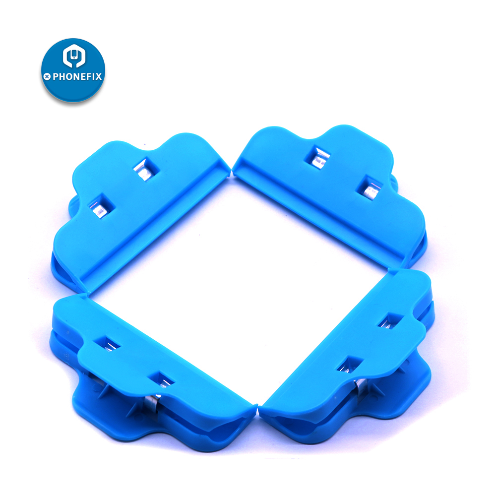 PHONEFIX Plastic Clip Fixture LCD Screen Repair Fastening Clamp Smartphone Repair Tools For IPhone Samsung IPad Xiaomi