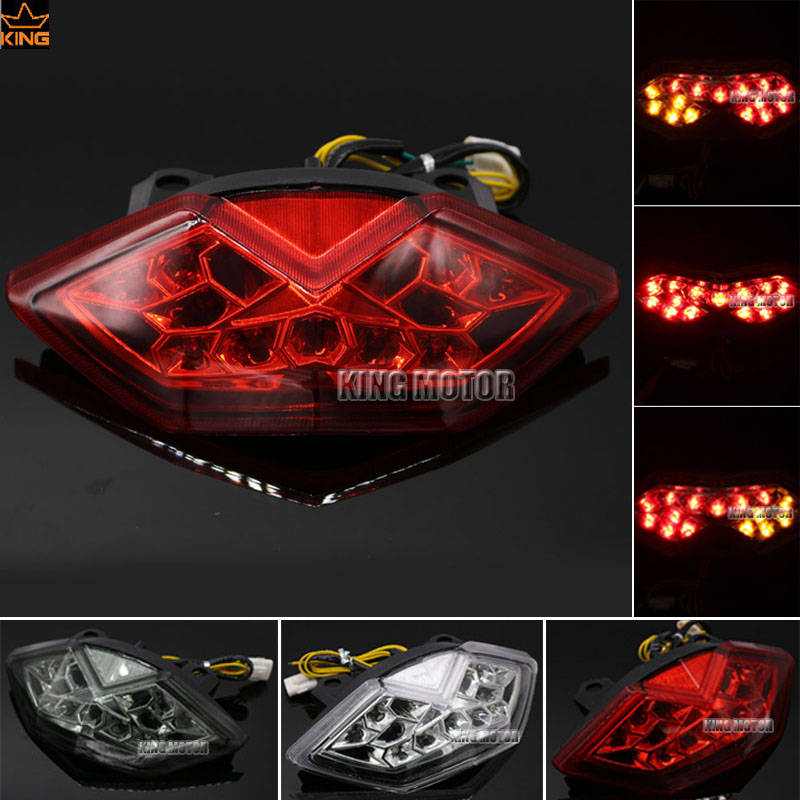 For Kawasaki Z1000 2010-2013 Z1000SX 2011-2014 Ninja1000 KLE650 KLE 650 VERSYS Integrated LED Tail Light Turn signal Red