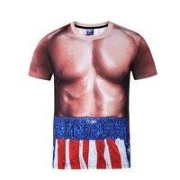 Mr BaoLong Miss GO Brand Tees Original Tide Brand New Men S Shirt Digital 3D Printing