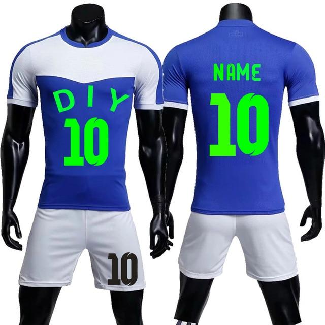 0404e9b5b36 2018 sporting soccer jersey Men women Survetement Football Shirts shorts  Sports Kit 2019 Soccer Jerseys Uniforms custom LogoName