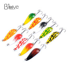 Biwvo Spoon Jig Mold For Lure Metal Squid Winter Fishing Hard Lure Ima Tinsel Ice Sea Jigging Lure Shad Surface Small Fishes(China)