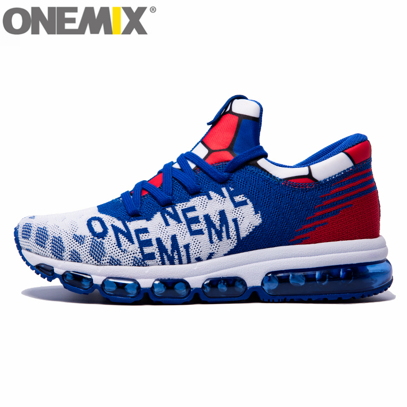ONEMIX High Air Mäns Löparskor Sport Sneakers Vinter Bekväma Ankelskor Athletic Jogging Sneakers