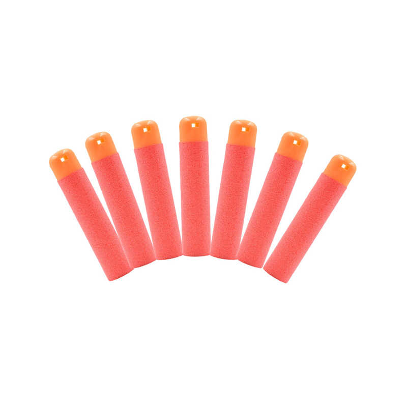 30 stuks 9.5x2cm Rode Sniper Rifle Kogels Darts voor Nerf Mega Kinderen Speelgoed Pistool Schuim Refill Darts grote Gat Hoofd Kogels Speelgoed Voor Kinderen