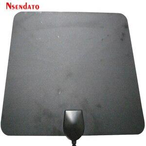 Image 5 - 174 ~ 240MHz 470 862MHz dijital kapalı ücretsiz TV anten sinyal amplifikatörü alıcı düz tasarım kablo tv için 50 miles aralığı dış